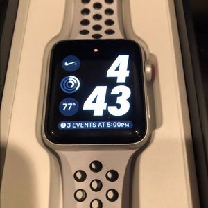 Apple Watch Series 3 42mm Nike+ Edition
